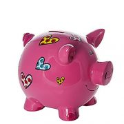 Grand-Tirelire-Cochon-avec-coeurs-pour-Enfants-et-Adultes-Filles-0-0