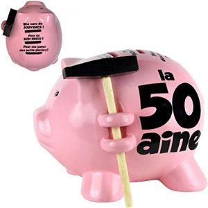 Tirelire-Cochon--Casser-15x15cm-50-ans-0