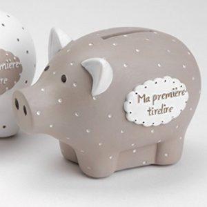 Tirelire-cochon-taupe-pois-blanc-0