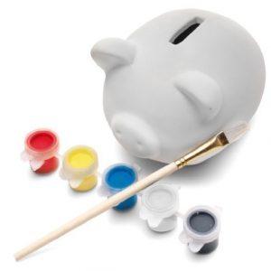 Kit-Tirelire-et-Peinture-pour-Enfant-Cration-Peindre-sa-Propre-Tirelire-Ide-Cadeau-0