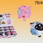 Out-Of-The-Blue-784006-Lot-de-2-Tirelires-Vache-et-Cochon-en-Cramique-0-0
