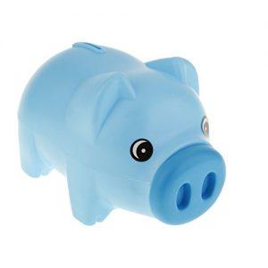 Plastique-Bleu-Tirelire-Animal-Tirelire-Trsorerie-Dconomie-De-Pices-De-Monnaie-Enfants-Enfants-Cadeau-0