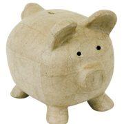 Dcopatch-Grand-Tirelire-cochon-en-carton-brun-rigide-hauteur-255-cm-0