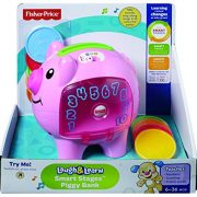 Fisher-Price-Laugh-Learn-Count-Learn-Piggy-Bank-Tirelire-Cochon-Version-Anglaise-0-0