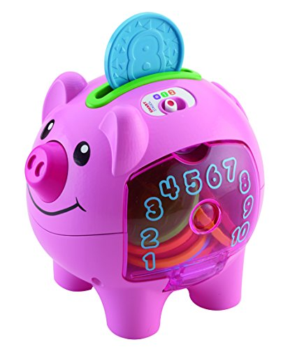 Fisher-Price-Laugh-Learn-Count-Learn-Piggy-Bank-Tirelire-Cochon-Version-Anglaise-0