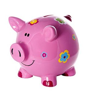 Mousehouse-Gifts-Grande-Tirelire-Cochon-avec-des-Fleurs-pour-Enfants-et-Adultes-Filles-0