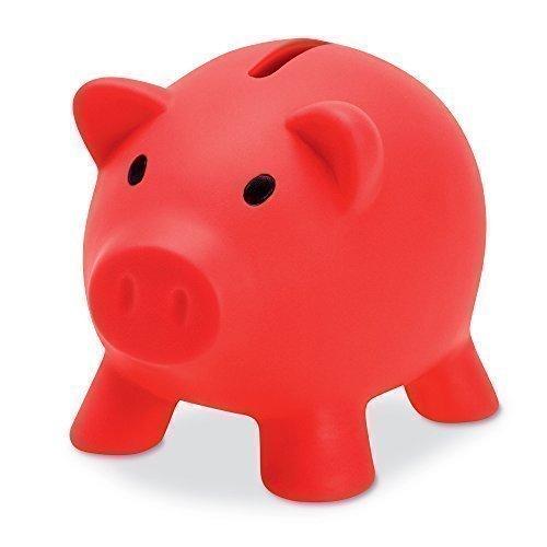 eBuyGB-Tirelire-Cochon-pour-y-Glisser-de-la-Monnaie-et-du-Liquide-Cadeau-Amusant-en-Plastique-Rouge-1278505-0