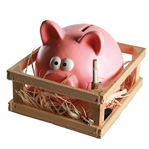 Out-of-the-blue-Tirelire-Cochon-avec-Marteau-Multicolores-14-x-12-cm-0