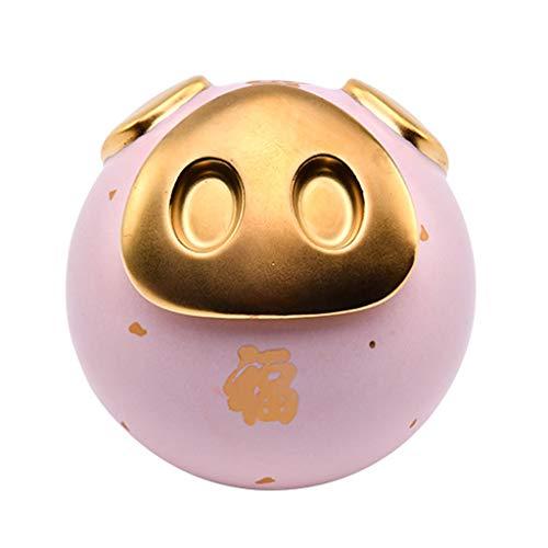 Tirelire-cochon-Cramique-Beau-Cochon-Tirelire-Toy-Banque-multifonction-Tirelire-Thiere-Pen-Holder-anniversaire-de-Nol-for-les-garons-enfants-filles-Tirelire-Lesser-Color-Pink-0