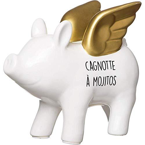 Les-Vilaines-Filles-38-VF-032-Tirelire-Cochon-licorne-Cagnotte–mojitos-Blanc-et-dor-Porcelaine-H15-x-95-x-165-cm-0
