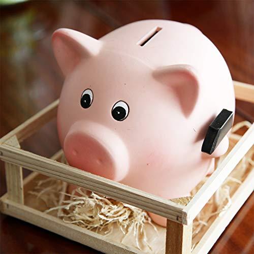 Tirelire-cochon-rose-en-cramique-avec-corail-et-marteau-Dimensions-21-x-16-cm-Idal-pour-les-petites-conomies-et-pour-dcorer-0